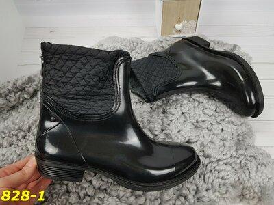 2e3c57418 ботинки полусапожки резиновые непромокаемые утепленные на холодное время  года 36-40р