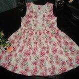 красивое нарядное платье Matalan 3-4 года можно до 5 лет состояние отличное