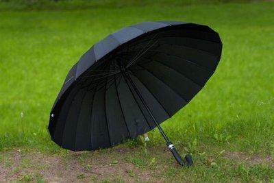 Мужской зонт трость на 24 спицы суперкачество очень прочный