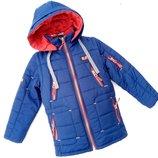 Демисезонная куртка на мальчика Мото -1, 110-146 см