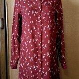 Платье рубашка размер 8-10 h&m
