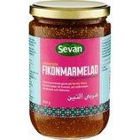 Мармелад с инжира, вес 800 грамм, Швеция, Fikonmarmelad Sevan