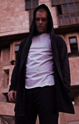 Черная мужская мантия Quest Wear - Normal, Black