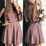 Нарядное платье две расцветки