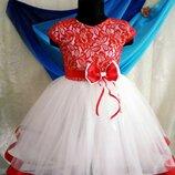 Платье Вишенка