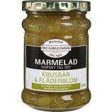 Мармелад крыжовник и бузина, 295 грамм, Den Gamle Fabrik, Швеция