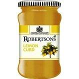 Лимонное варенье Lemon Curd Robertson, 320 грамм, производитель Швеция
