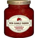 Мармелад ревень с клубникой Marmelad Rabarber & jordgubb, производитель Швеция