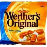 Нежные жевательные ириски Cream Toffees Werthers, 135 грамм, Германия