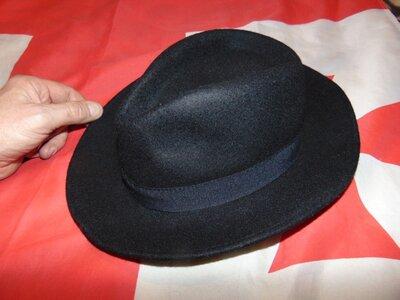 Стильная фирменная шляпа Италия Italeri Италери .52-54 .xs-s-m.унисекс .