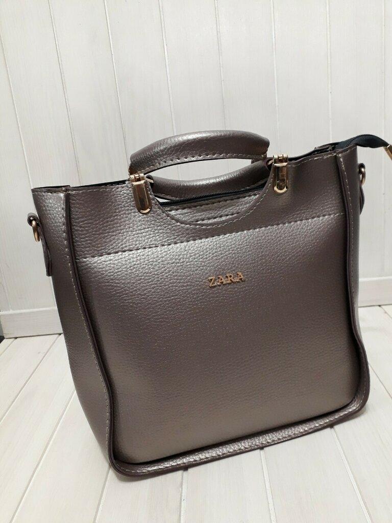 77462d851f65 Женская сумка Zara цвет металлик: 410 грн - сумки средних размеров zara в  Харькове, объявление №20326911 Клубок (ранее Клумба)