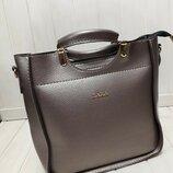 Женская сумка Zara цвет металлик