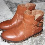 Стильные кожаные демисезонные ботинки Next размер 12 на 31 19,7 см по стельке