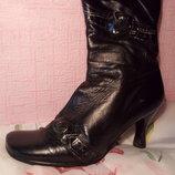Полусапожки,ботинки демисезонные размер 38 фирмы Abilova, б/у