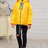 Яркая весенняя куртка для девочки 128-152р
