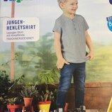 Детская футболка Lupilu на мальчика 2-4,4-6 лет, рост 98/104. 110/116