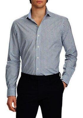 Мужская винтажная рубашка в клетку Ralph Lauren оригинал