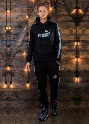Тёплый мужской спортивный костюм на байке 720 Пума .