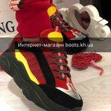 Коллекция 2019.Замшевые женские кроссовки.Яркие женские кроссовки