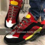 Замшевые женские кроссовки.Яркие кроссовки женские Ando&Borteggi