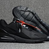 Топ качество. Кроссовки Nike Air Max Flair 270 черные KS 859 | 133TP