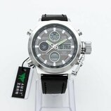 Наручные часы AMST AM 3003 black silver