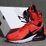 Оригинал. Бесплатная доставка. Кроссовки Nike Air Max Flair 270 красные KS 879