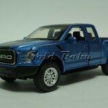 Машинка джип пикап Ford F-150 Raptor свет звук 1/32