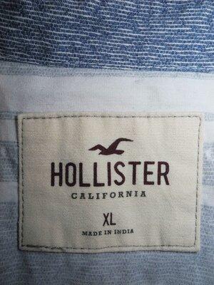 Мужская рубашка мягкая безрукавка Hollister California XL L