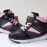 Демисезонные ботинки для девочки фиолетовые, Tom. m