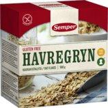 Овсянка без глютена Semper Havregryn 500 грамм, Швеция
