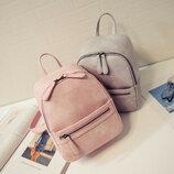 Женский рюкзак маленький, 5 цветов