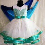 Нарядное платье Мята