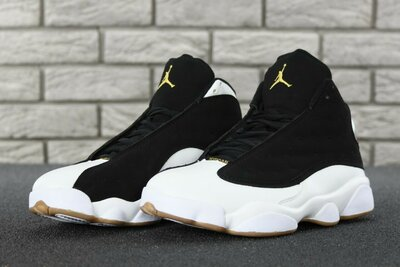 0ffa9574 Мужские кроссовки Nike Air Jordan Retro 13 Black White. Previous Next