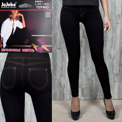 Легинсы под джинс на меху Jujube 42-50р универсальный
