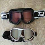 Лыжная маска , очки горнолыжные