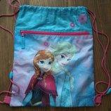 Сумка - рюкзак для спортивной одежды Disney Frozen