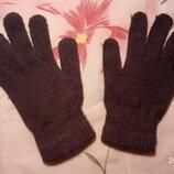 Теплые перчатки, б/у