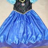 Продам в новом состоянии, фирменное Disney, платье Анны, Эльзы, 5-7 лет.