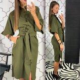 Платье-Рубашка, 927