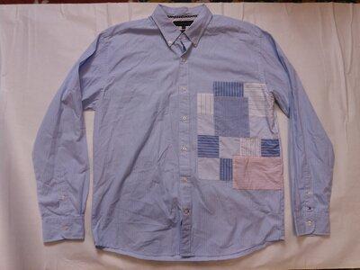 Брендова сорочка чоловіча Tommy Hilfiger XL-XXL Нідерланди рубашка мужская