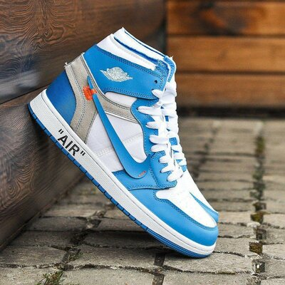 Кроссовки Nike Air Jordan 1 off-white