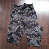 Размер 8 Новые модные летние натуральные штаны