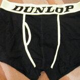 Фирменные новые мужские трусы-боксеры Dunlop Aнглия р. M