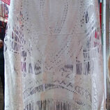 Белое пляжное платье на 44-48 размеры