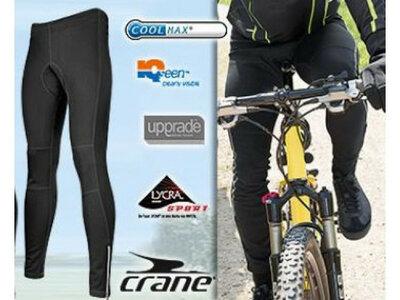 Мужские утеплённые велосипедные штаны лосины