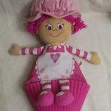 кукла кексик little miss muffin капкейк большая 50см cupcake