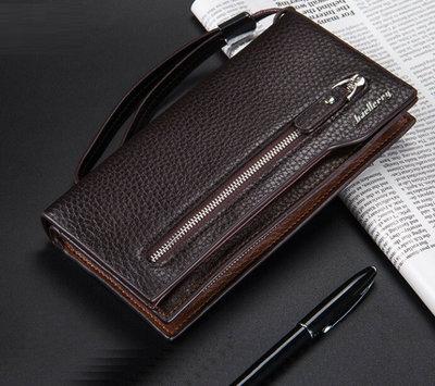 Мужской клатч кошелек Baellery, 2 цвета