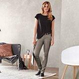 Классные джинсы с напылением Slim Fit от Tchibo