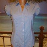 Рубашка блуза в полоску р.8 Marks & Spencer
